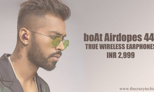 Boat Airdopes 441 True Wireless Earphones Launched in India at Rs. 2,999