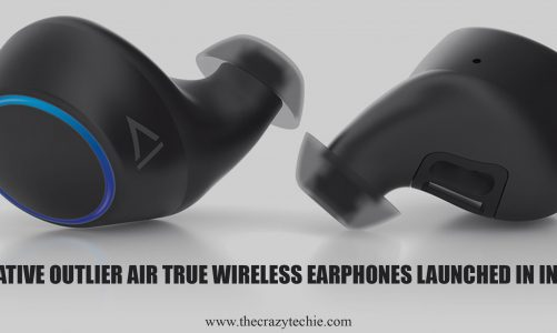 Creative Outlier Air True Wireless Earphones Launched in India at Rs. 6,999